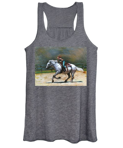 Riding Dollar Women's Tank Top