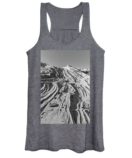 Rippled Sandstone At Waterhole Canyon Women's Tank Top