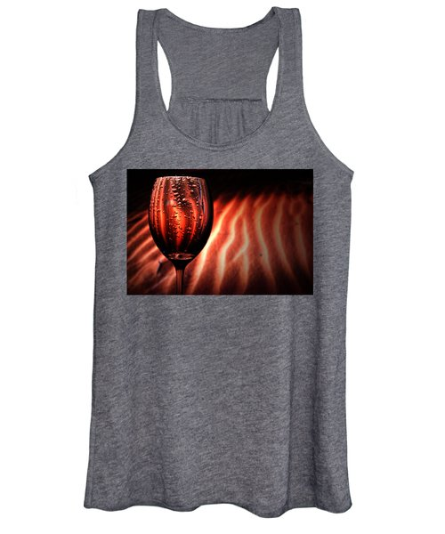 Ripples And Droplets Women's Tank Top