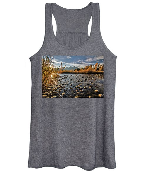 River In The Tetons Women's Tank Top
