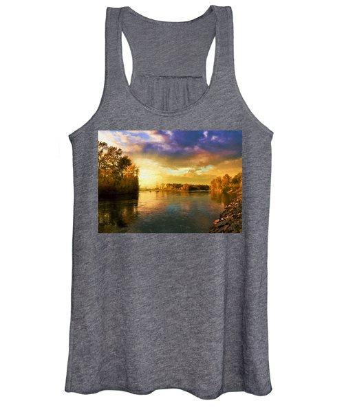 River Sunset Women's Tank Top