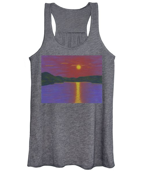 Riverboat Sunset Women's Tank Top