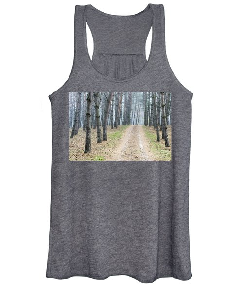 Road To Pine Forest Women's Tank Top