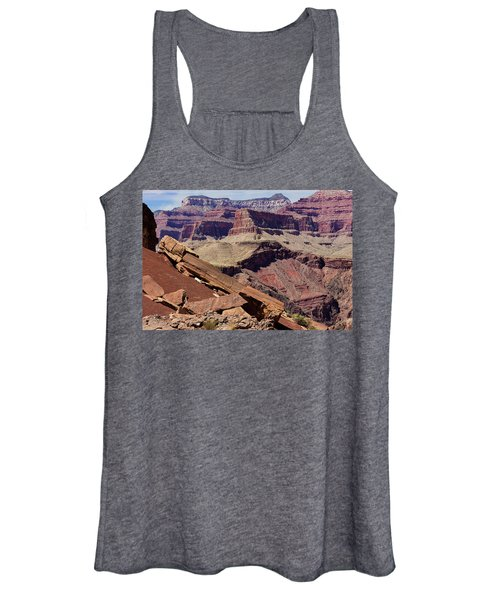 Rock Formations In The Grand Canyon Women's Tank Top
