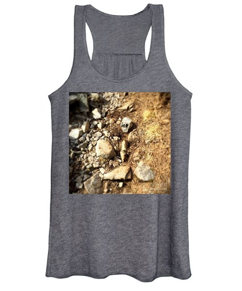 Rock Skull Women's Tank Top