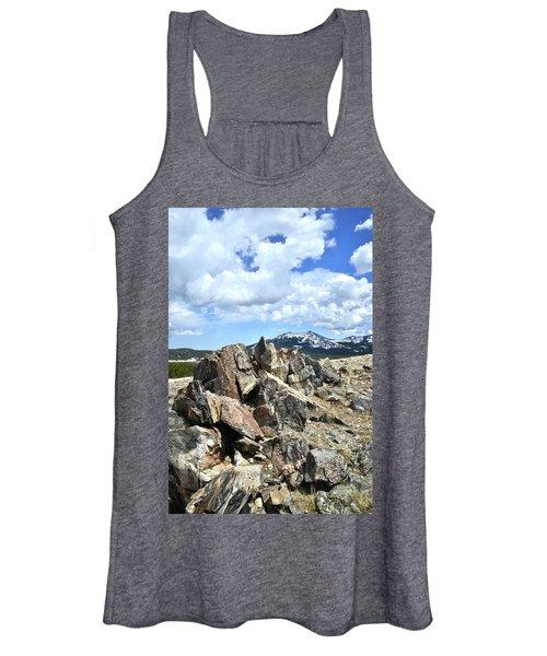 Rocky Crest At Big Horn Pass Women's Tank Top