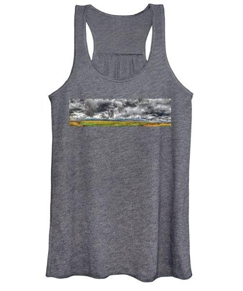 Rocky Mountain Panorama Hdr Women's Tank Top