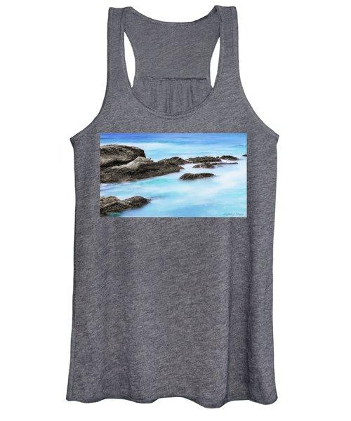 Rocky Ocean Women's Tank Top