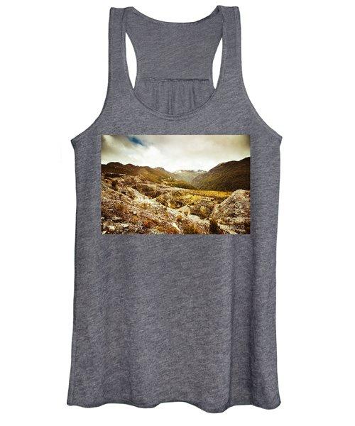 Rocky Valley Mountains Women's Tank Top