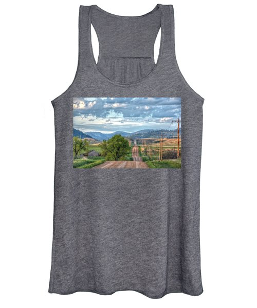Rollercoaster Country Road Women's Tank Top