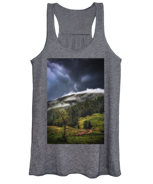 Rolling Through The Trees Women's Tank Top