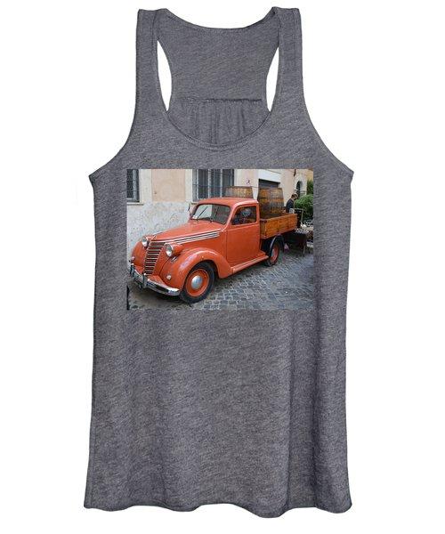 Roman Street Parking And Shopping Women's Tank Top