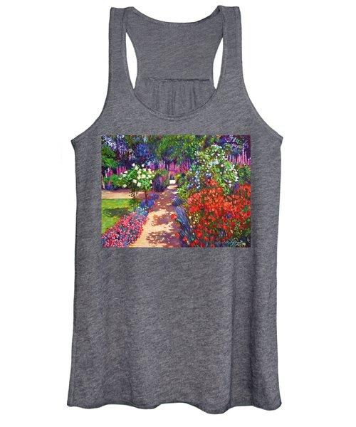 Romantic Garden Walk Women's Tank Top
