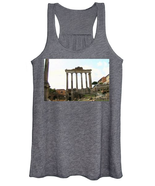 Rome The Eternal City Women's Tank Top