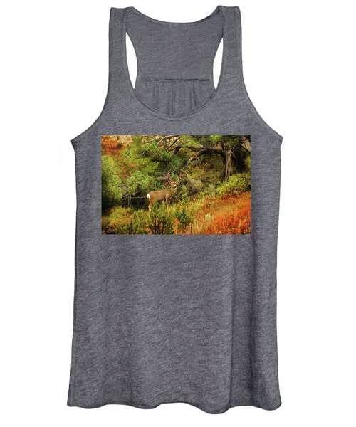 Roosevelt Deer Women's Tank Top