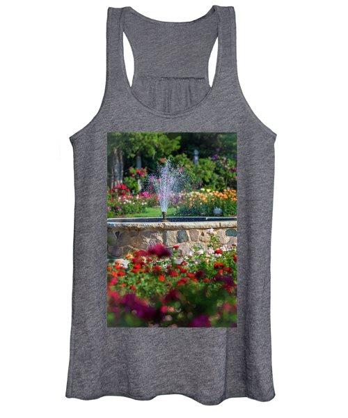 Rose Fountain Women's Tank Top