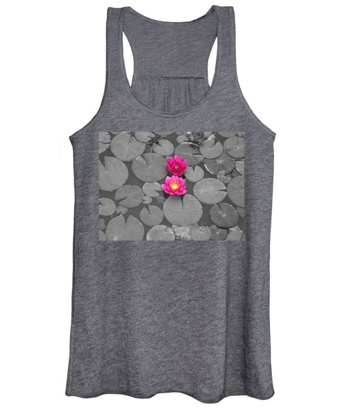 Rose Of The Water Women's Tank Top