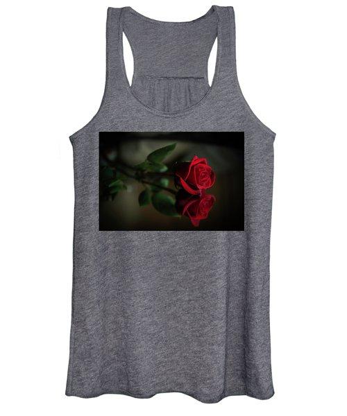 Rose Reflected Women's Tank Top