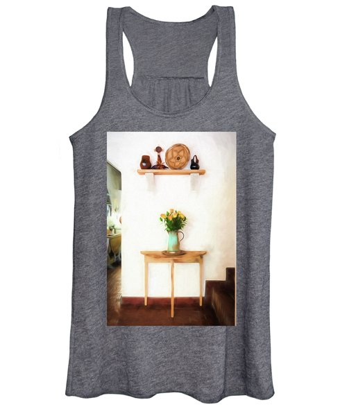 Rose's On Table Women's Tank Top