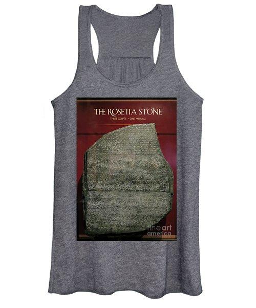 Rosetta Stone Replica Women's Tank Top