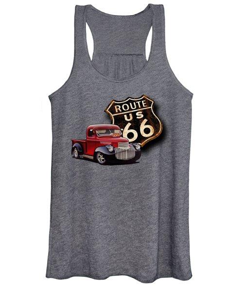 Route 66 Pickup Women's Tank Top
