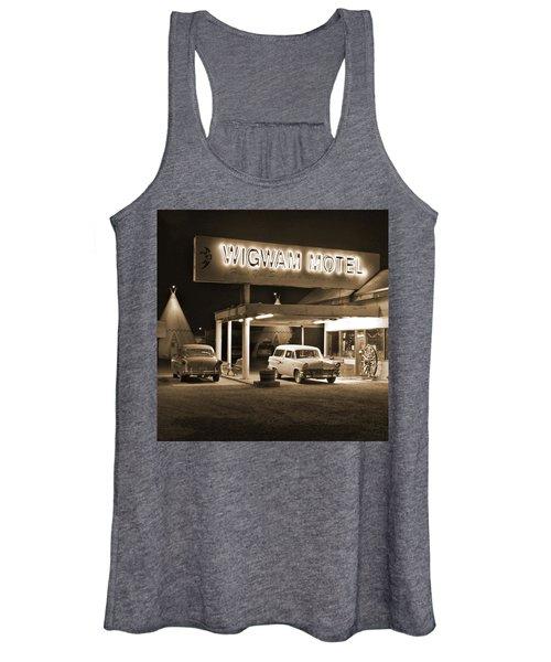 Route 66 - Wigwam Motel Women's Tank Top