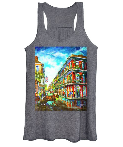 Royal Carriage - New Orleans French Quarter Women's Tank Top