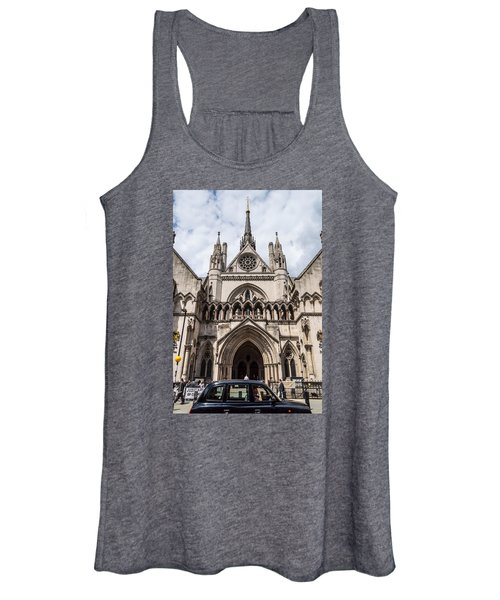 Royal Courts Of Justice In London Women's Tank Top