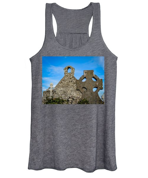 Women's Tank Top featuring the photograph Ruins At 12th Century Killone Abbey by James Truett