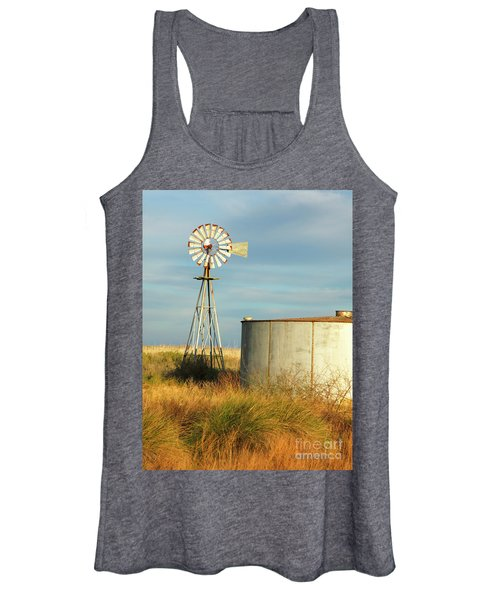 Rust Find Its Place Women's Tank Top