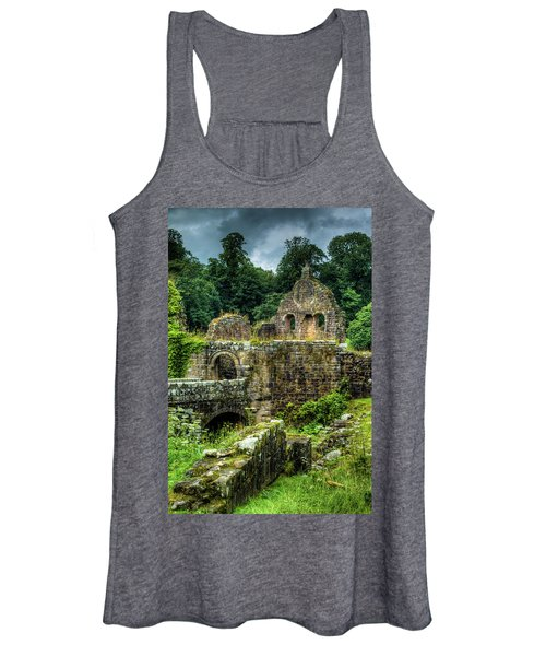 Rustic Abbey Remains Women's Tank Top