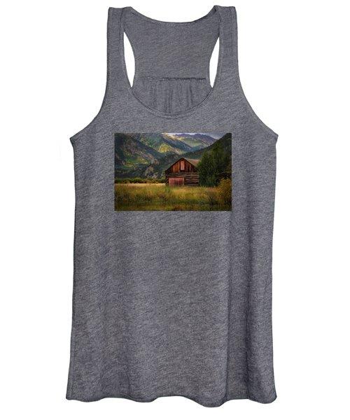Rustic Colorado Barn Women's Tank Top