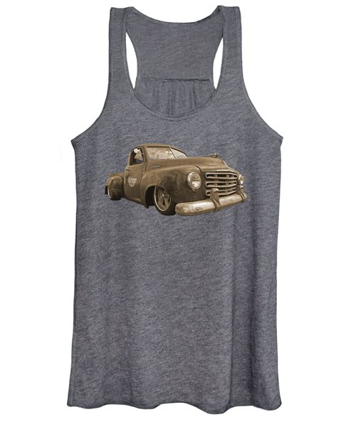 Rusty Studebaker In Sepia Women's Tank Top