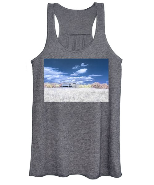 S C Upstate Barn Faux Color Women's Tank Top