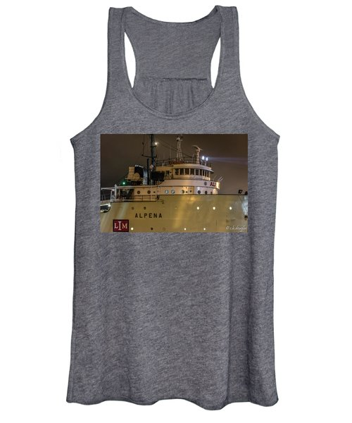 S/s Alpena - 75 Years On The Great Lakes Women's Tank Top
