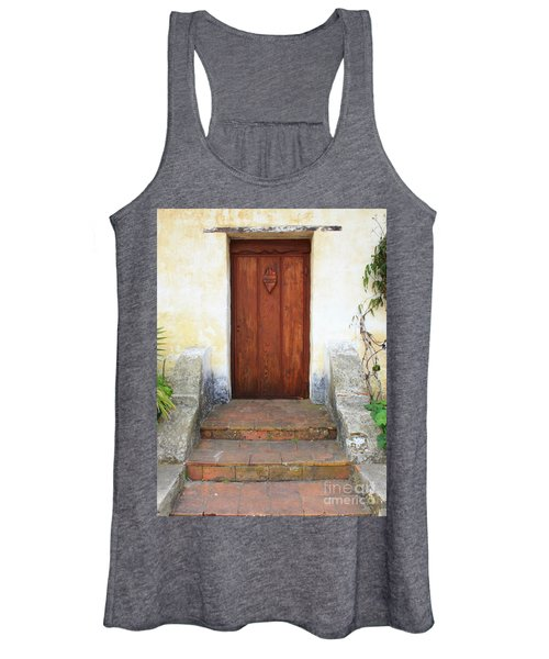 Sacred Heart Door Women's Tank Top