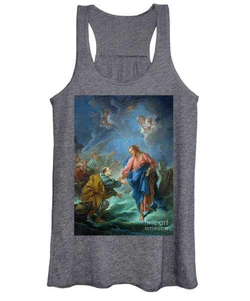 Saint Peter Invited To Walk On The Water Women's Tank Top
