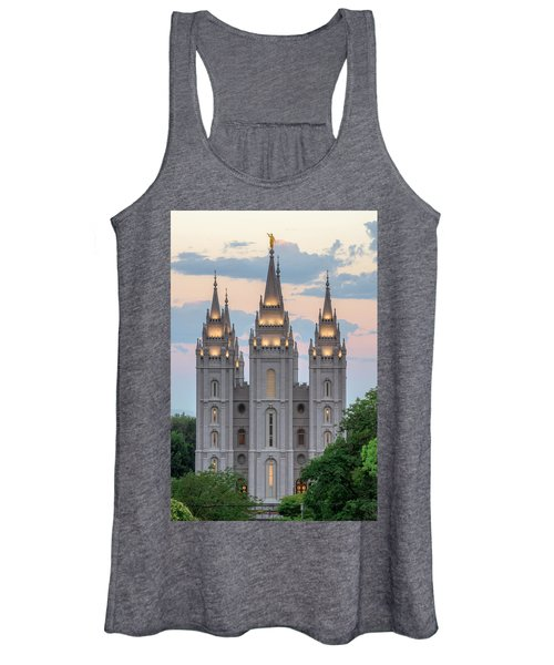 Salt Lake City Temple Morning Women's Tank Top