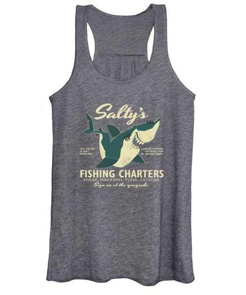 Salty's Fishing Charters Women's Tank Top