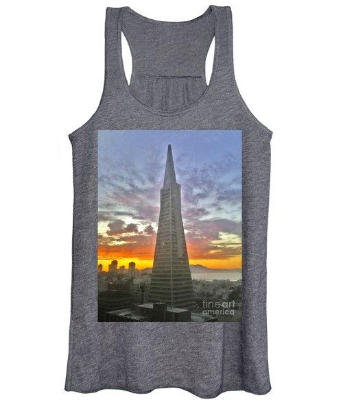 San Francisco Pyramid Women's Tank Top