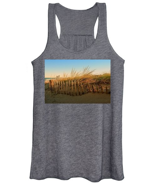 Sand Dune In Late September - Jersey Shore Women's Tank Top
