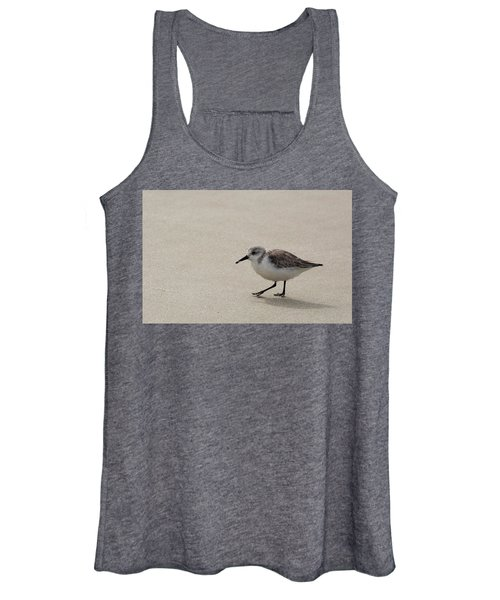 Sandpiper At The Beach Women's Tank Top