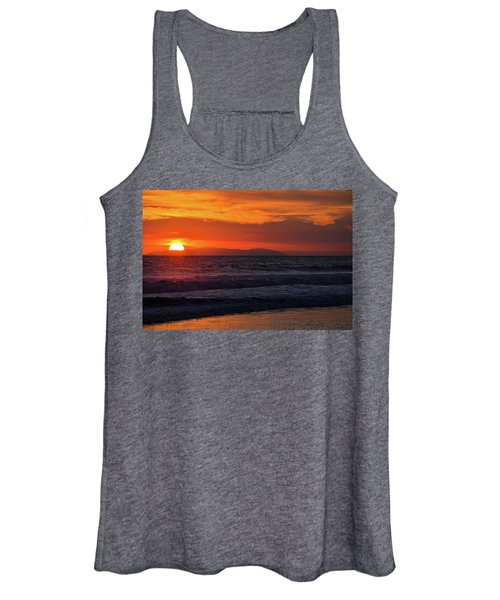 Santa Catalina Island Sunset Women's Tank Top