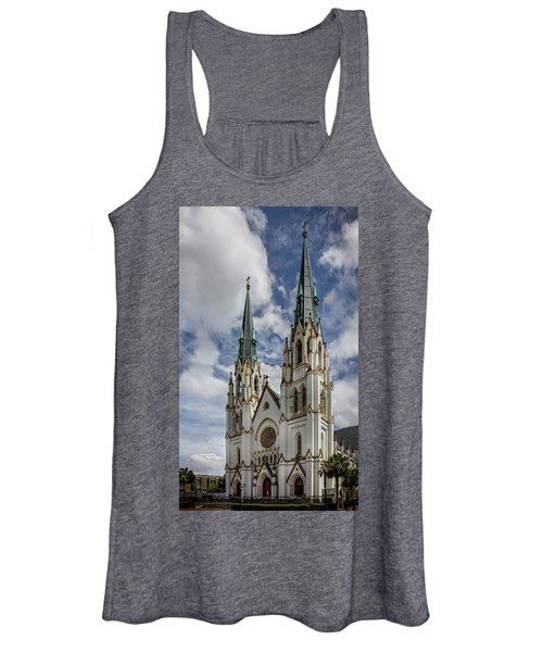 Savannah Historic Cathedral Women's Tank Top