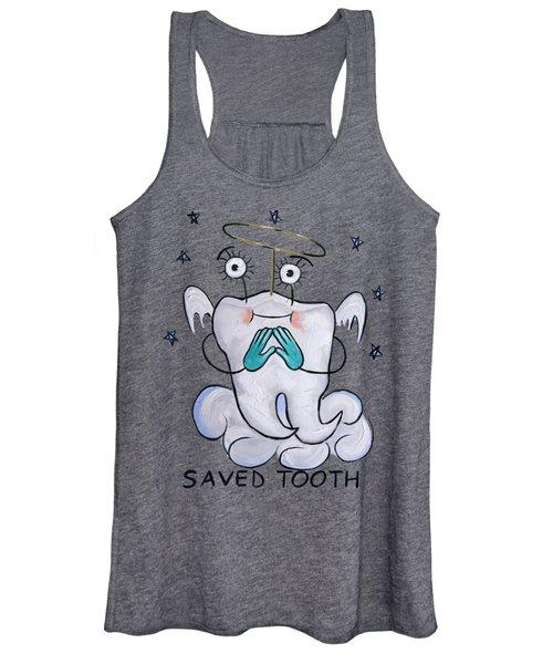 Saved Tooth T-shirt Women's Tank Top