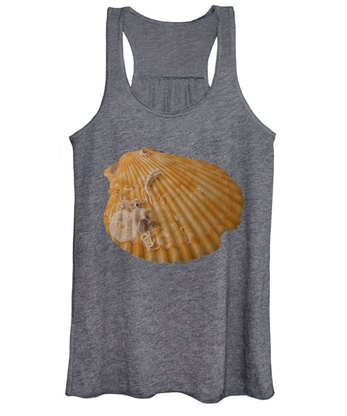 Scallop Shell With Guests Transparency Women's Tank Top