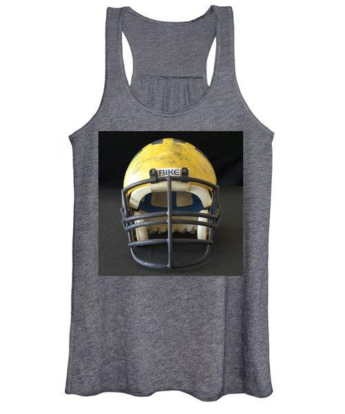 Scarred 1980s Wolverine Helmet Women's Tank Top