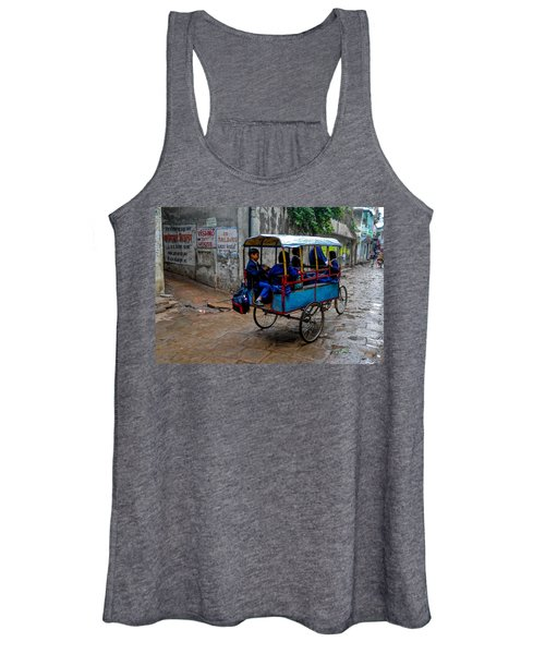 School Cart Women's Tank Top