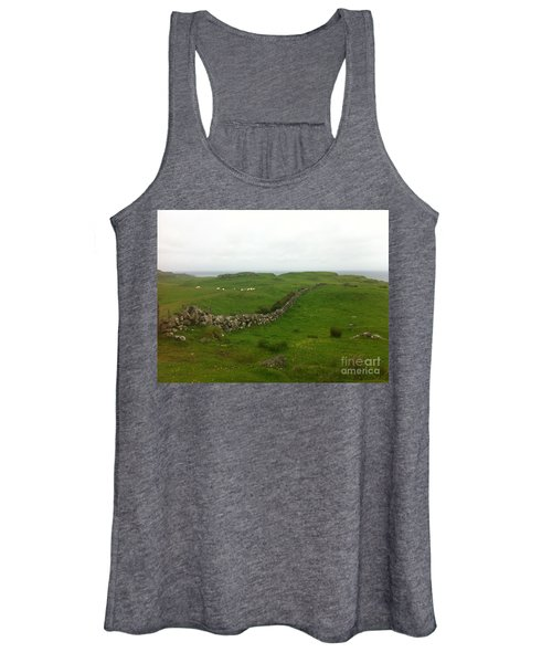 Scottish Wall Women's Tank Top