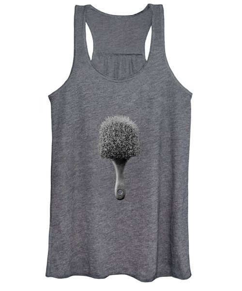Scrub Brush Up Bw Women's Tank Top
